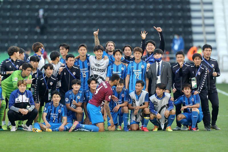 Ulsan Hyundai beat Vissel Kobe in the AFC Champions League semi-final