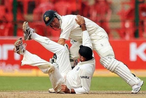 The battles between Harbhajan Singh and Ricky Ponting have drawn plenty of eyeballs