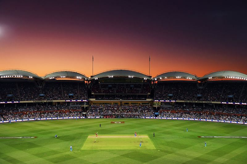 The Adelaide Oval hosted eight BBL games last year.