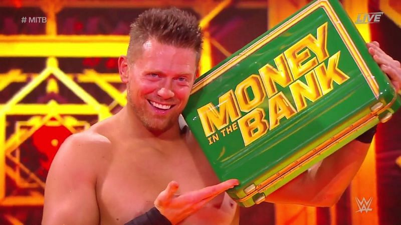 The Miz just got back his Money In The Bank contract