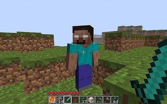 Herobrine Spawning in Minecraft