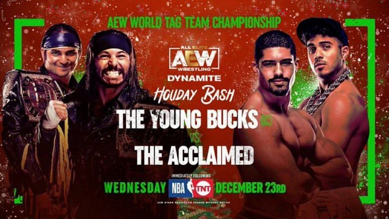 The Acclaimed will get a shot at the AEW World Tag Team Championships