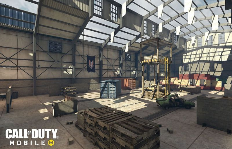 Killhouse मैप. Image via Activision Games Blog