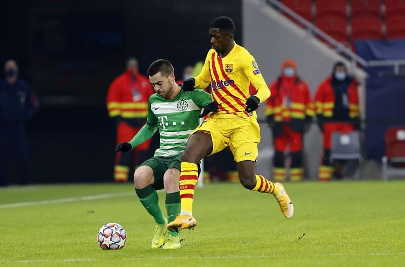 Ousmane Dembele is yet to recover from his injury