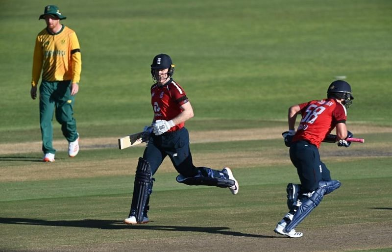 England play South Africa in the third game of their T20I series at Cape Town. Pic: ICC/Twitter