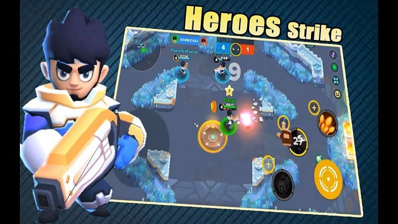Heroes Strike Offline – MOBA & Battle Royale (Image via Android Gaming with Ashraf, YouTube)