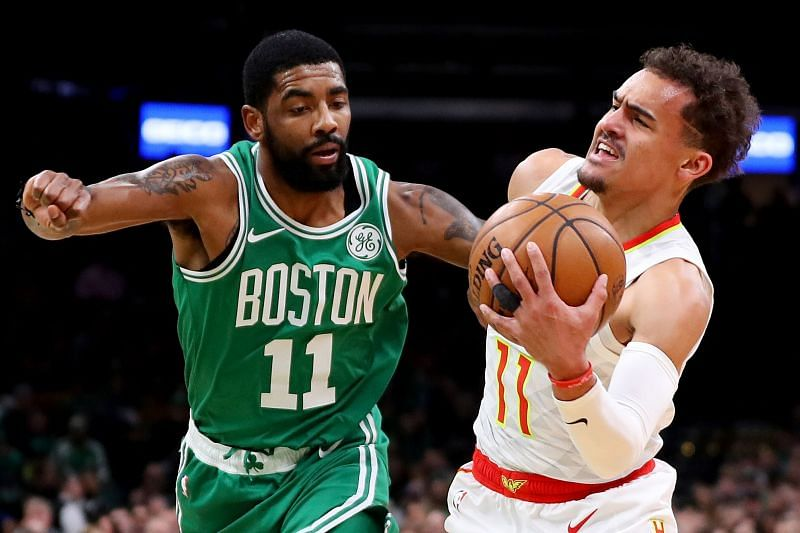 Kyrie Irving vs Trae Young