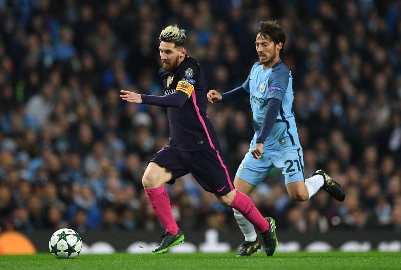 Manchester City FC vs FC Barcelona - UEFA Champions League