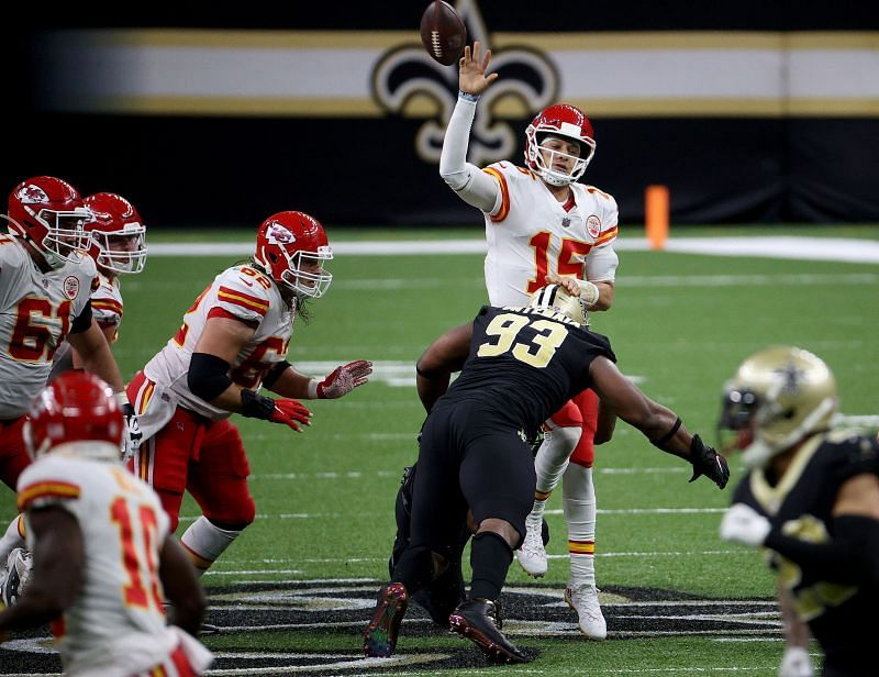 Will it be the Kansas City Chiefs v the New Orleans Saints in the Super Bowl?