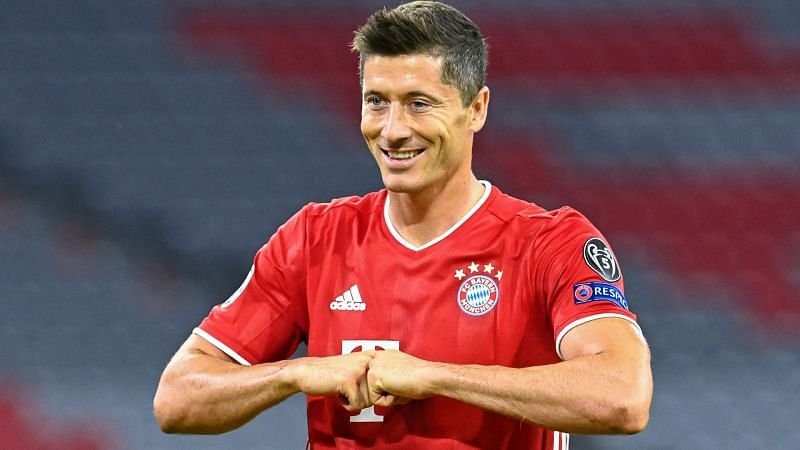 Robert Lewandowski outshone two GOATs of the game this year