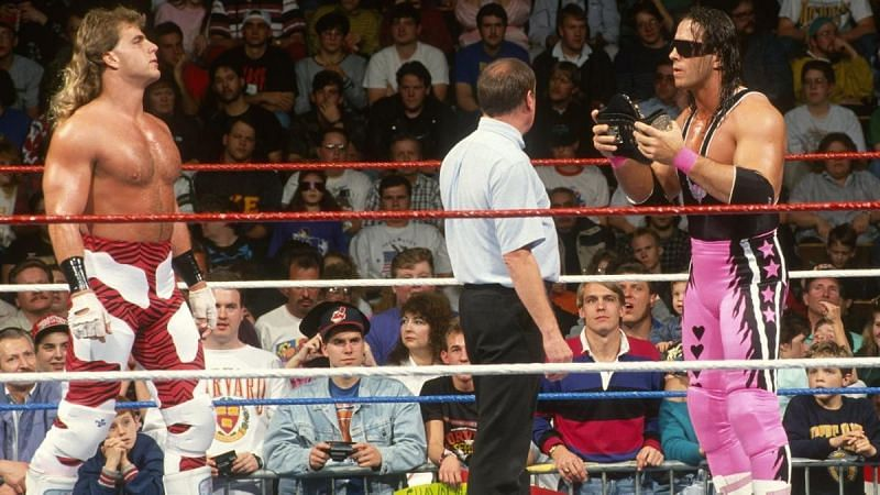 Shawn Michaels versus Bret Hart was one of the greatest rivalries