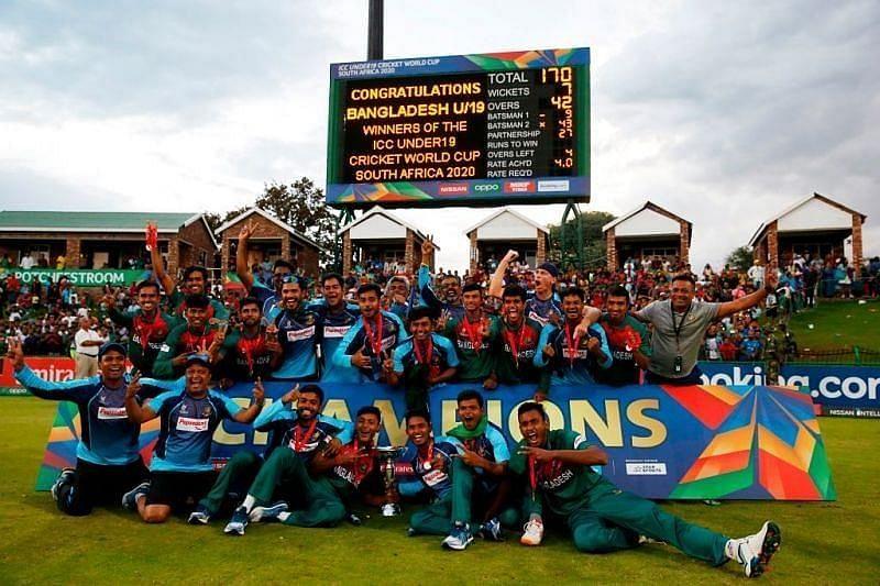 Bangladesh won the 2020 U-19 ICC World Cup