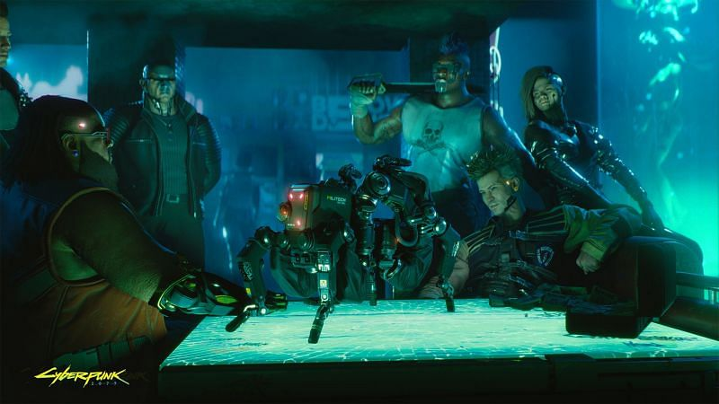 Cyberpunk 2077 Android scam raises more than $9,500 (Image via CD Projekt Red)