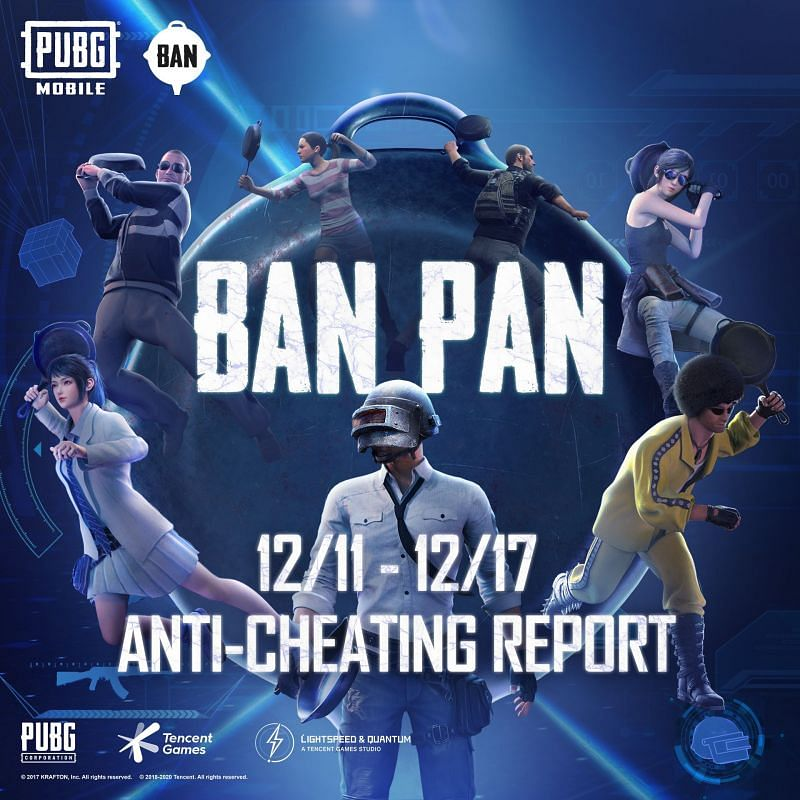 PUBG Mobile anti-cheating reports
