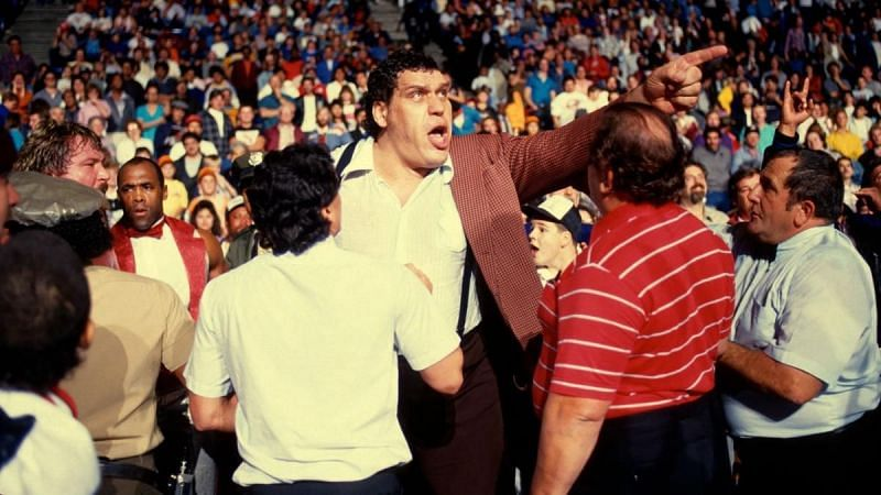 Andre the Giant is a one-time WWE Champion