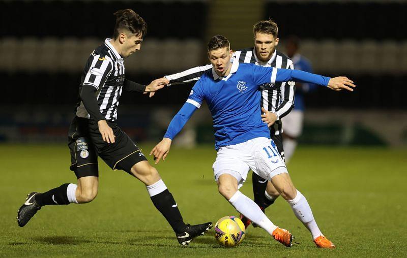 St Mirren v Rangers in the Cup quarter-final