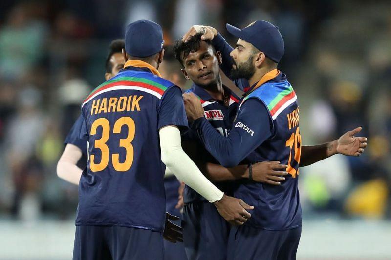 T Natarajan made an impact on debut