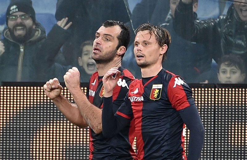 Veteran striker Goran Pandev is a doubt for the trip to Benevento