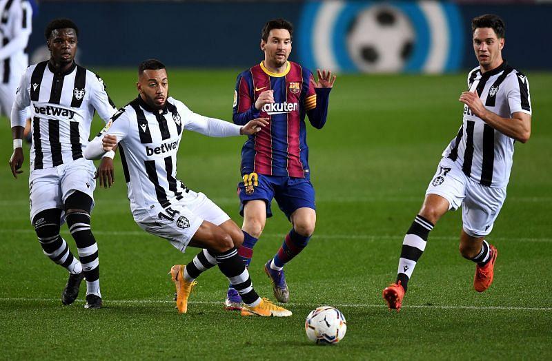 Lionel Messi has had an underwhelming season so far