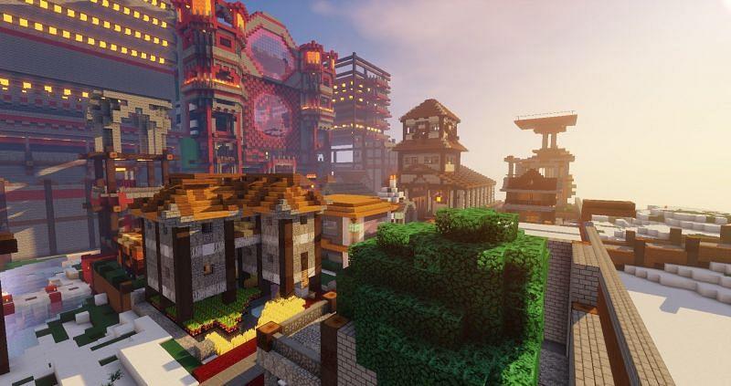 Ecocitycraft is a sole purpose dedicated Minecraft economy server