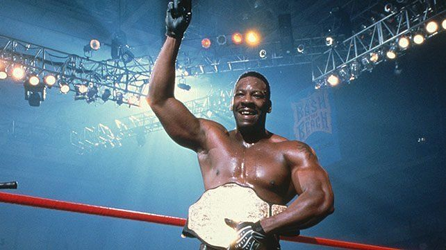 Booker T as WCW Champion