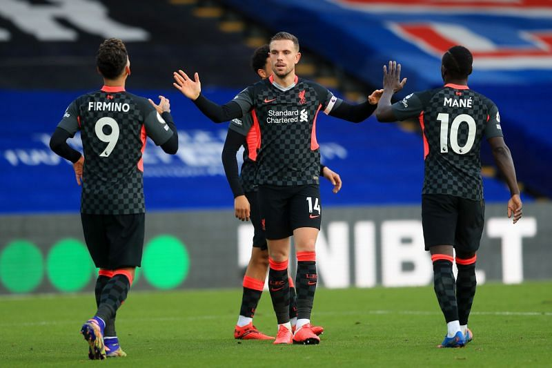 Liverpool beat Crystal Palace 7-0 at Selhurst Park