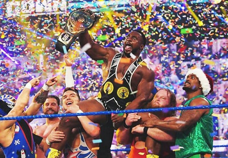 Big E is the Intercontinental Champion.