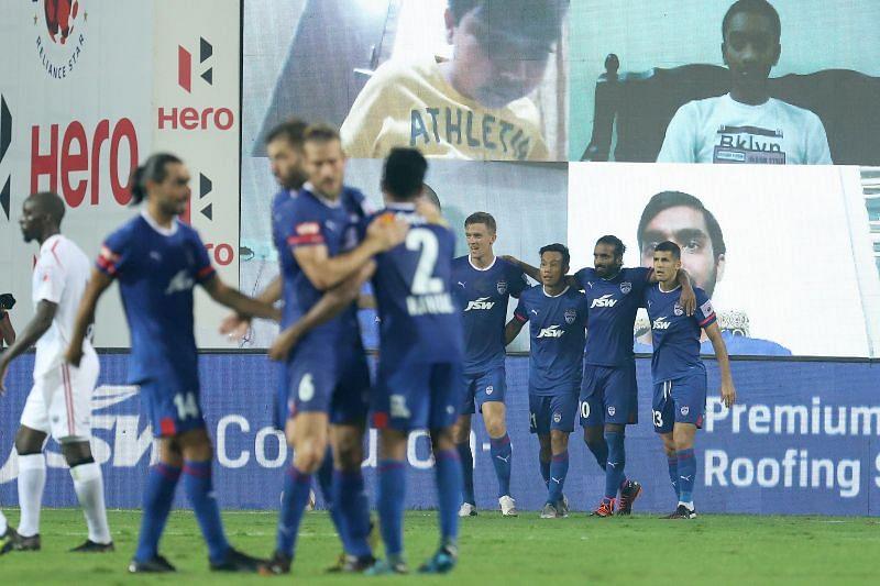Bengaluru FC are among the three teams unbeaten in the Hero ISL 2020-21 (Image credits: ISL Media)