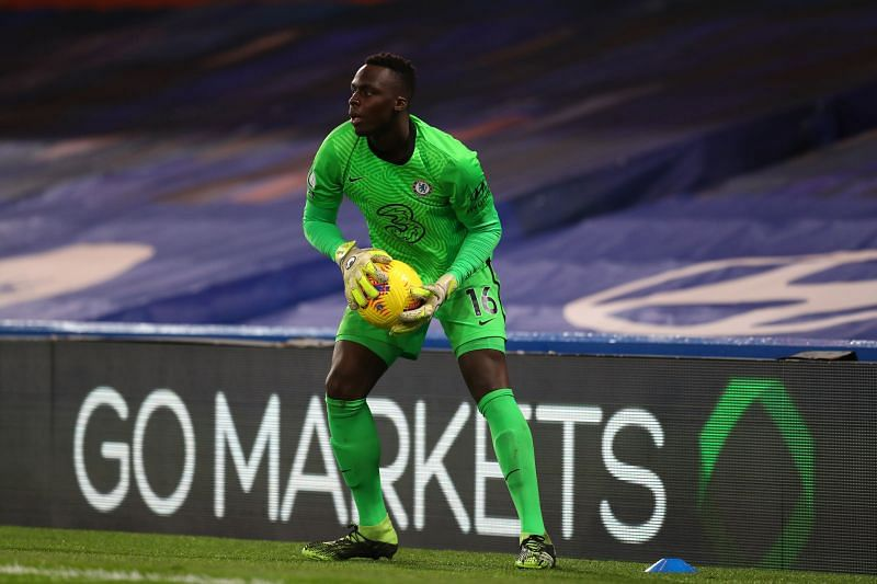 Edouard Mendy has kept ten clean sheets for Chelsea.