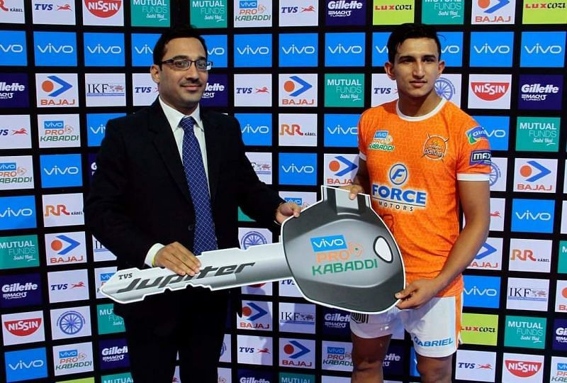 Rinku Narwal got only a few opportunities during his stint with Puneri Paltan.