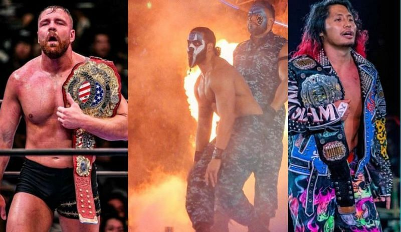 No signs of Jon Moxley in NJPW, as G.O.D and Hiromu Takahashi win big