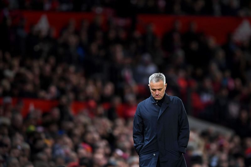 Jose Mourinho was sacked by Manchester United in 2018