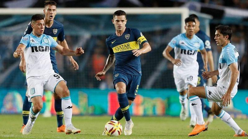 Boca Juniors v Racing Club is an interesting matchup.