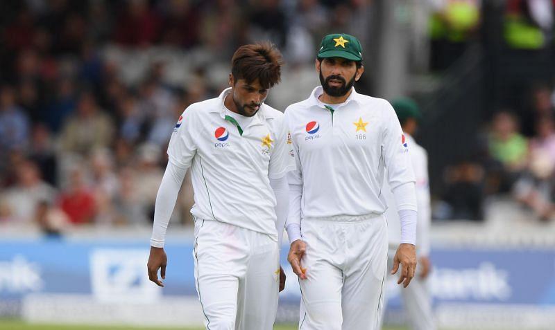 Mohammad Amir (left) retired from international cricket recently