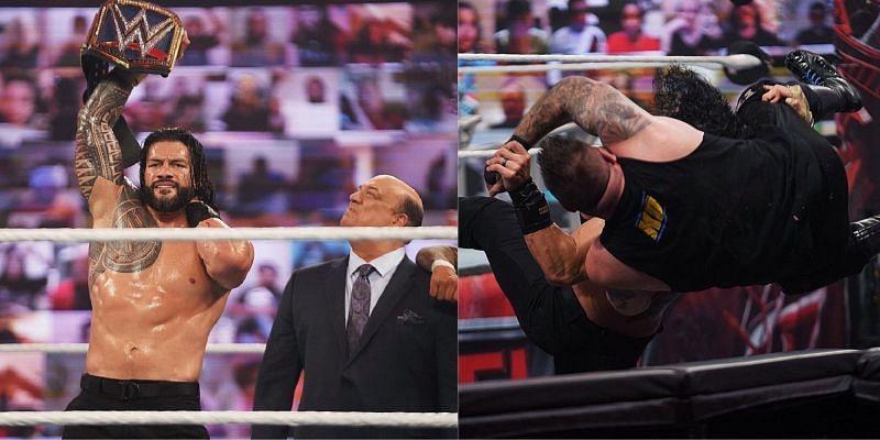 WWE  TLC 2020: रोमन रेंस और केविन ओवेंस