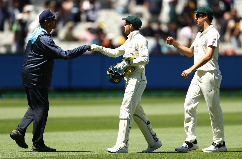 India won the Boxing Day Test by 8 wickets