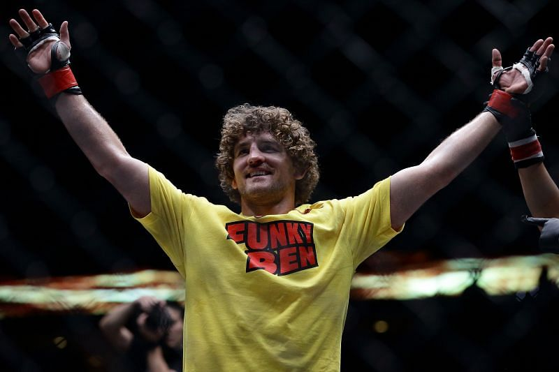Ben Askren is a former Bellator and ONE welterweight champion