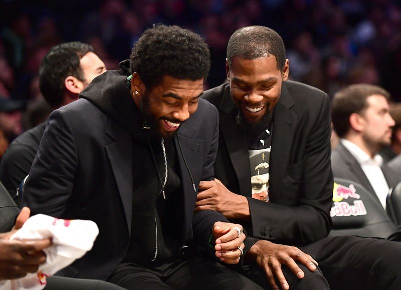 KD and Kyrie will be expected to lead the Brooklyn Nets to victory against the Atlanta Hawks