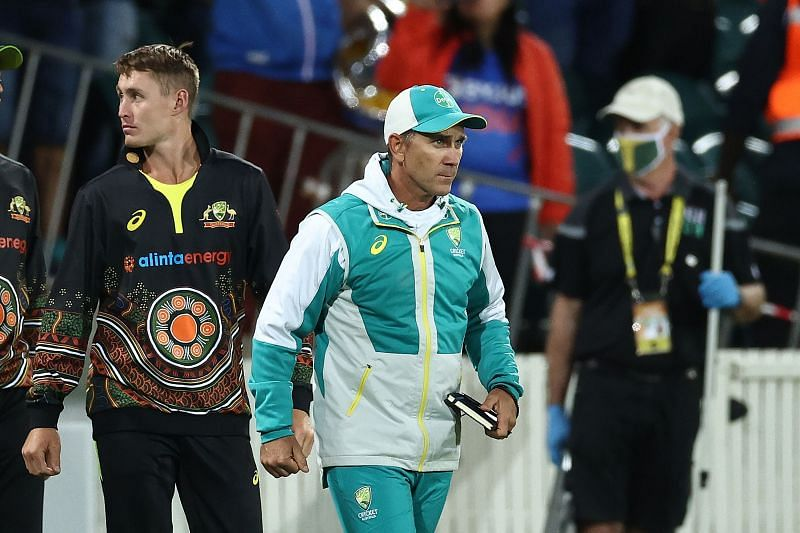Australian coach Justin Langer was not happy with ICC Match Referee David Boon