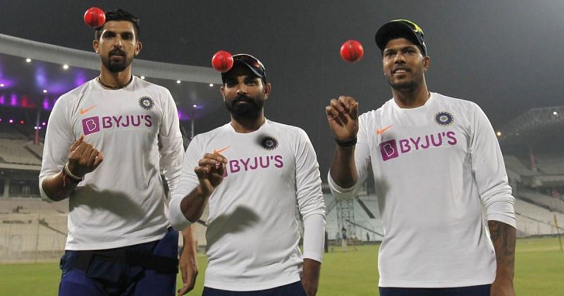 The Indian pacers accounted for 19 wickets in the pink ball Test against Bangladesh