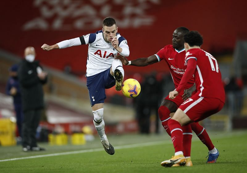 Lo Celso shone in the Spurs midfield before being replaced on the hour mark.