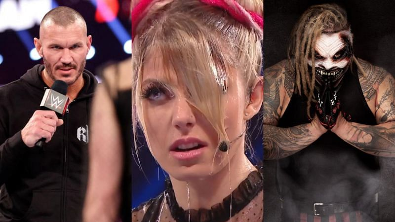 Randy Orton, Alexa Bliss, and The Fiend