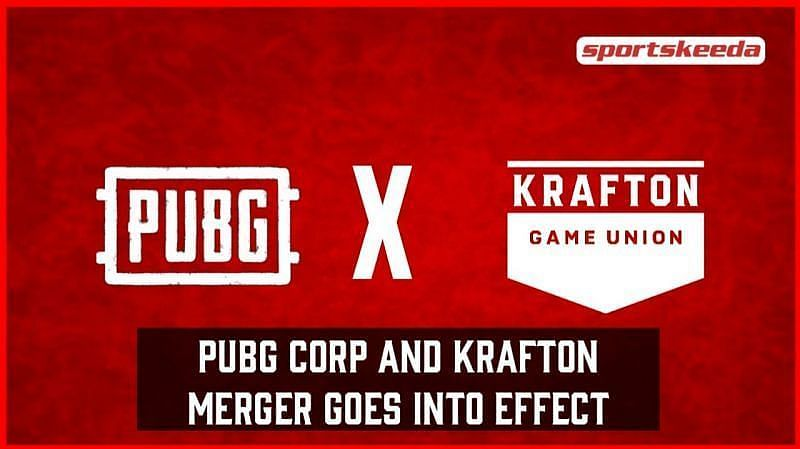 The PUBG x Krafton merger has officially come into effect