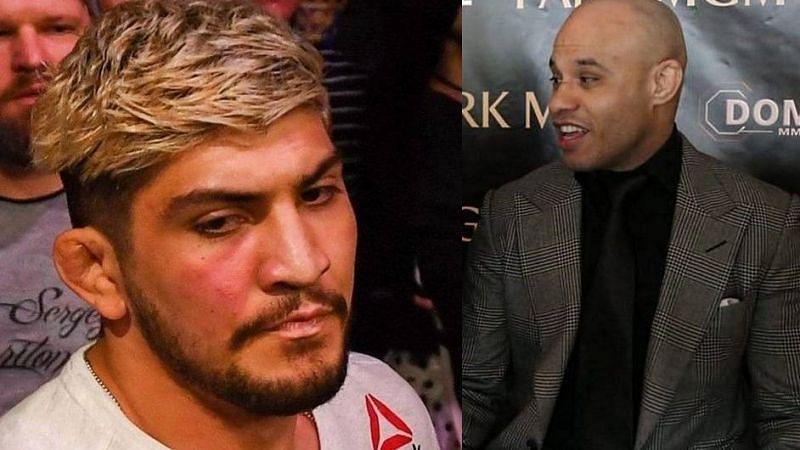 Dillon Danis (left); Ali Abdelaziz (right)