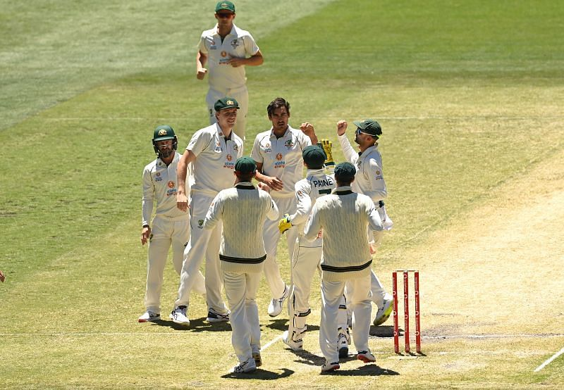 Australia lost second Test to India by 8 wickets.