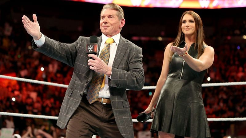 Vince McMahon and Stephanie McMahon