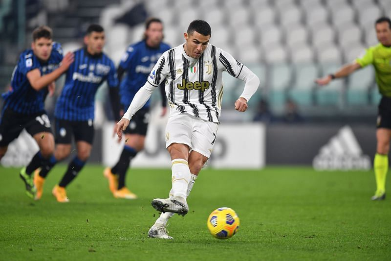 Ronaldo missed a penalty in their game against Atalanta after scoring four in the previous two games.