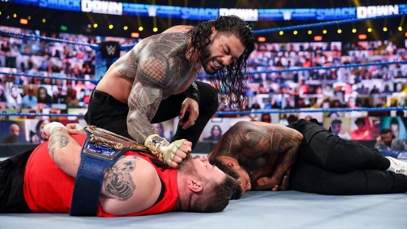 Roman Reigns has sent a message to Kevin Owens ahead of their SmackDown collision