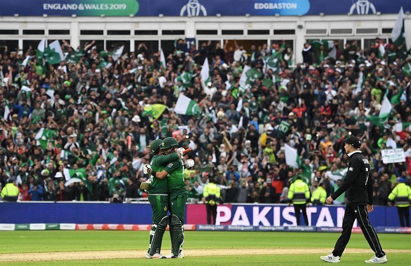 Pakistan Cricket Team in Edgbaston - CWC 2019