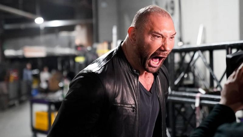 Batista retired from WWE in-ring competition in 2019